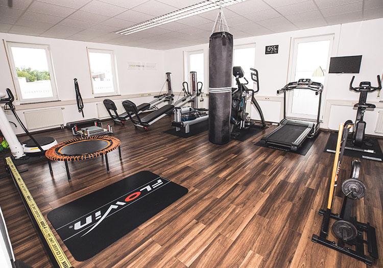 Trainingsfläche bei der Sportpraxis Spiller