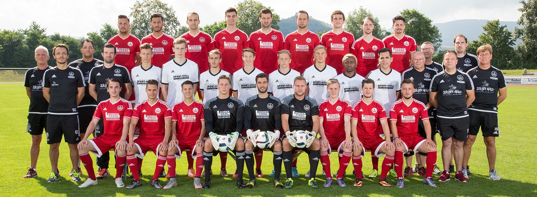 TSV Weilheim Landesliga-Fußballmannschaft